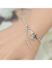 Armband unendlichkeit perle