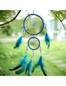 Attrape Rêve Traditionnel  Bleu