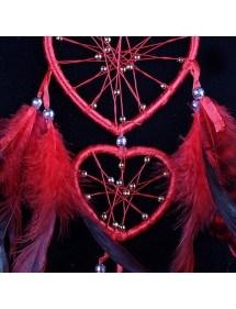 Attrape Rêve Coeur Rouge 2