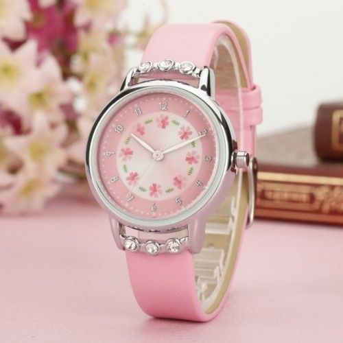 Watch Child Girl Little Princess Pink