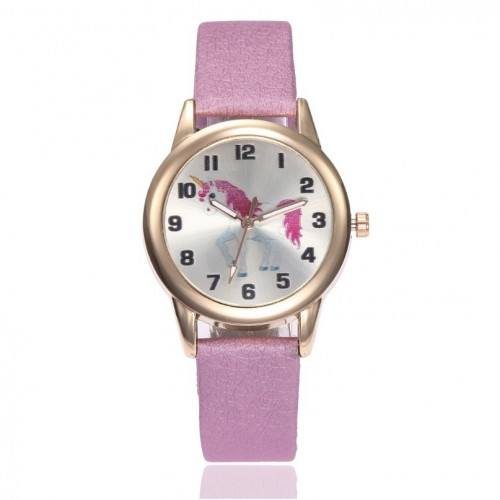 Watch Child Girl Unicorn V1 Pink