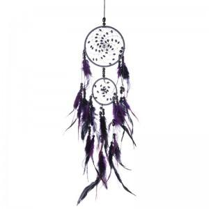 Grabs Dream Traditional Design 2 Circles V2 Purple