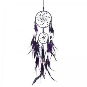Улов Мечтата На Традиционен Дизайн 2 Кръгове V2 Лилаво