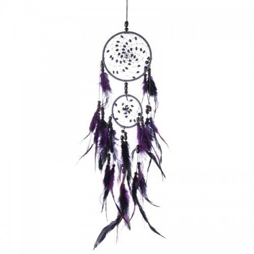 Fängt Traum Traditionellen Design 2 Kreise V2 Violett