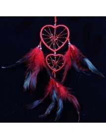 Attrape Rêve Coeur Rouge 3