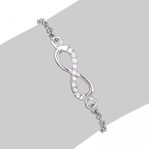 Infinity Armband Simply Silver