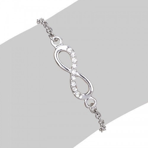 Гривна Infinity Simply Silver