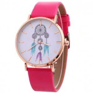 Watch Woman Gets Dream White Dream ' V3 Faux Leather Pink