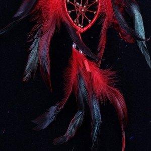 Attrape Rêve Coeur Rouge 4