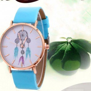 Montre Femme Attrape Rêve White Dream V3 Bleu Vert Turquoise 2