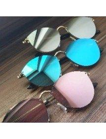 Solbriller Kvinde CateEye Spejle, Cat Eye