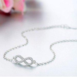 Bracelet Femme Infini Premium V4 Argenté