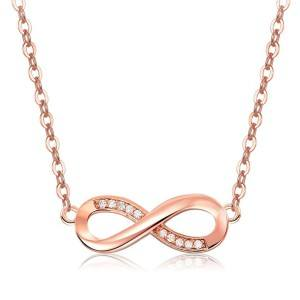 Collana Donna Infinity Premium V4 Dorato In Oro Rosa