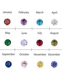 Birthstone színek