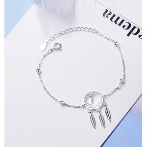 Bracelet Woman Gets Dream Premium Design Silver