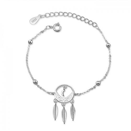 Bracelet Woman Gets Dream Premium Design Silver
