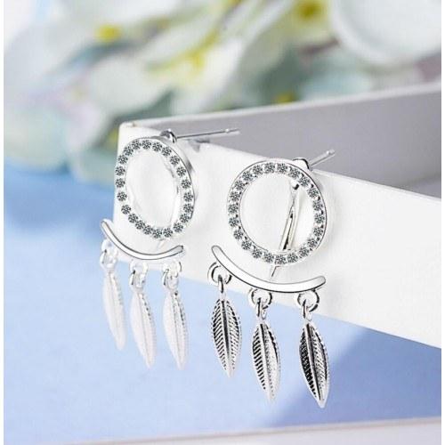 Earrings Catches Dream Premium Design Silver