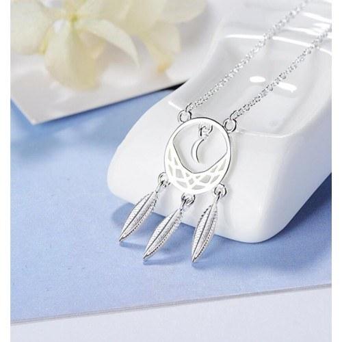 Collana Donna Ottiene Il Sogno Di Un Design Premium Silver