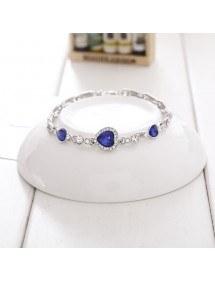 Heart Of The Ocean Bracelet, Titanic, Blue