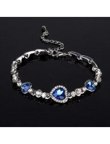 Bracelet Coeur De L'Océan, Titanic, Bleu 3