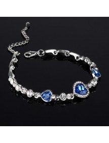 Bracelet Coeur De L'Océan, Titanic, Bleu 4