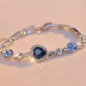Armband Herz Des Ozeans Titanic, Blau 5