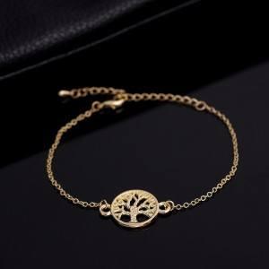Bracelet Arbre De Vie Or 2