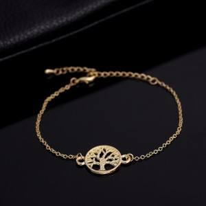 Bracelet Tree Of Life Gold 2