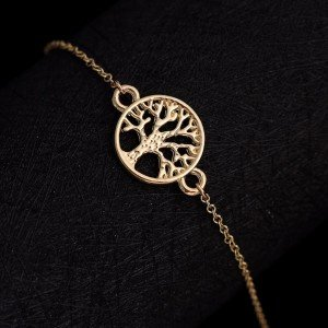 Bracelet Tree Of Life Gold