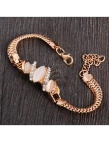 Diamanti Braccialetto di Conchiglie di mare e d'Oro 2