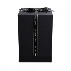 Confezione regalo per campanella premium originale con fiore di rosa eterna