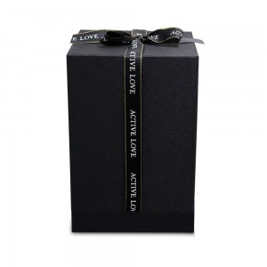 Caja de regalo para campana premium original de flor de rosa eterna