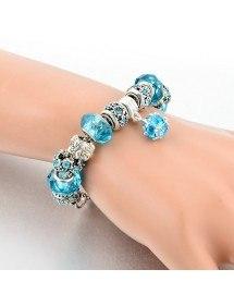 Bracciale Charms BlueBall Regolabile Argent_Bleu