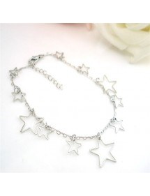 Chain Ankle Silver Star 4