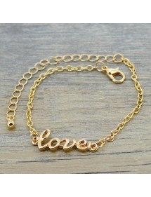 La cadena de Tobillo - Amor - Oro 2