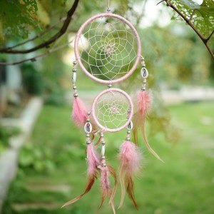 Traditional Pink Dream Catcher