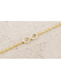 Collana Infinity, Premium Oro