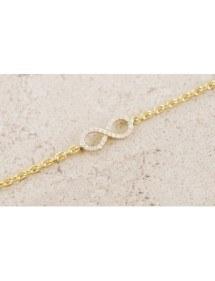 Necklace - Infinity, Premium Gold