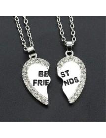 Halskette - Best Friends - Beste Freunde - Geld
