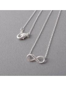 Halskette - Unendlich Simply - Silber 2