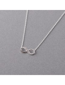 Collier - Infini Simply - Argent 3