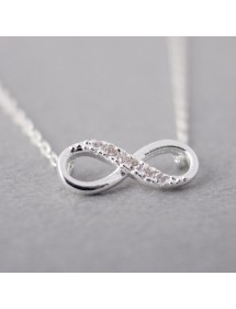 Collier - Infini Simply - Argent