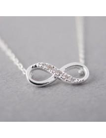 Halskette - Unendlich Simply - Silber