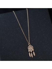 Necklace - Catch Dream Premium Gold 2