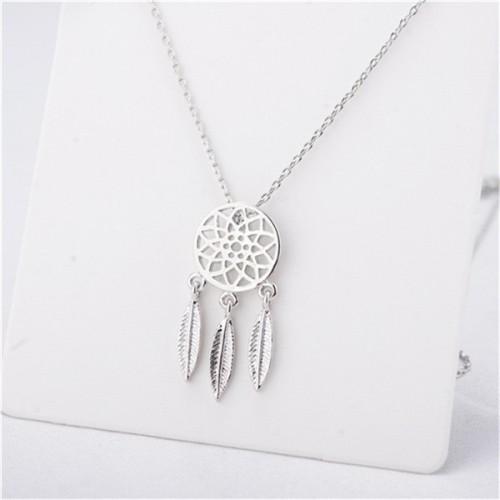 Halskette - Fängt Traum Premium - Silber
