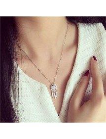 Halskette - Fängt Traum Premium - Silber 2