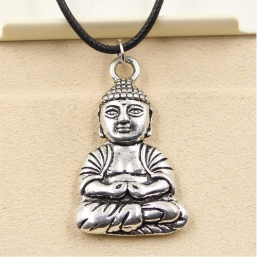 Collier - Bouddha - Simply - Argent