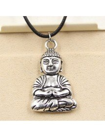 Necklace - Buddha - Simply - Silver