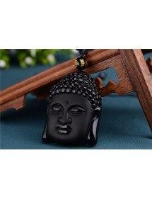 Collar De Buda - Premium - Obsidiana - Negro 2