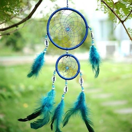 Fängt Traum Traditionellen Blau